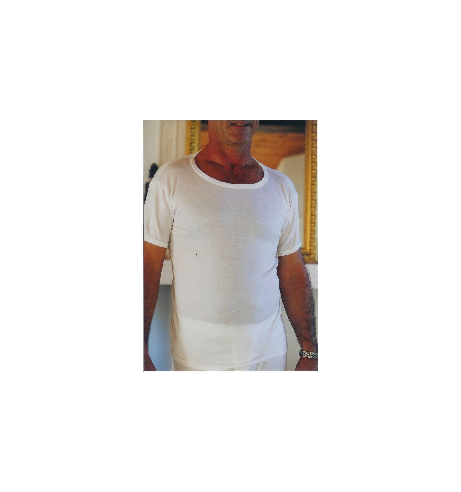 maillot de corps homme 100 coton papillon bleu sp cialiste des v tements pour personnes g es. Black Bedroom Furniture Sets. Home Design Ideas