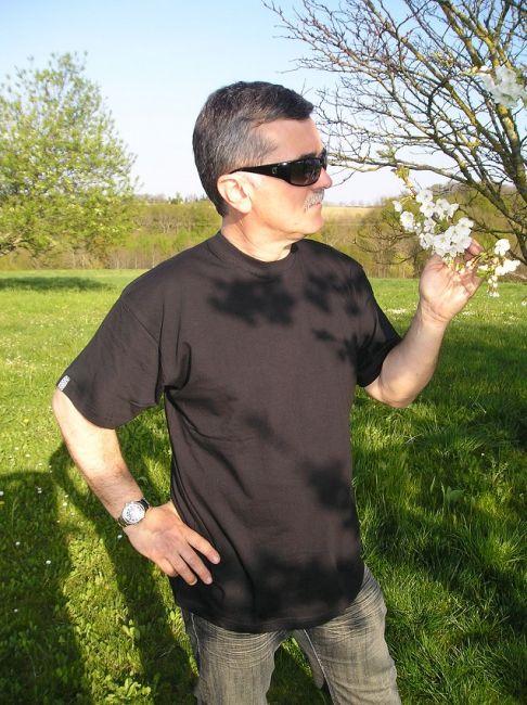 tee-shirt sénior d'été manches courtes