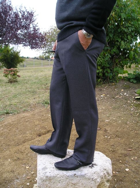 pantalon réglo sénior 100% polyester