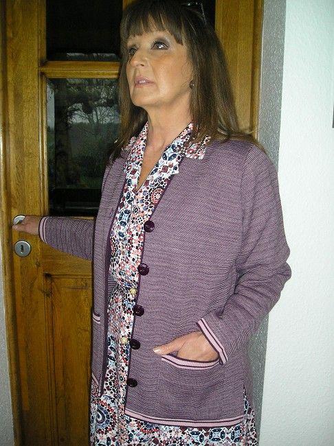 veste personne âgée manches longues