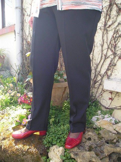pantalon personne agée