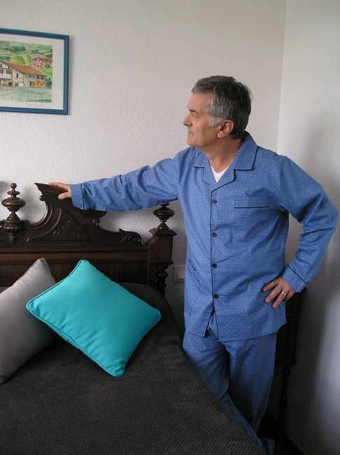 pyjama ouvert sénior