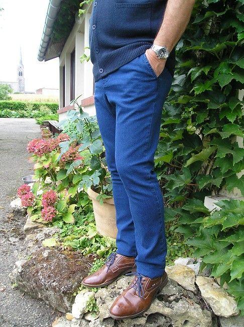 pantalon jean sénior taille élastiquée