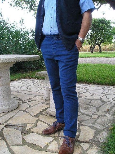 pantalon jean 3éme âge grande taille