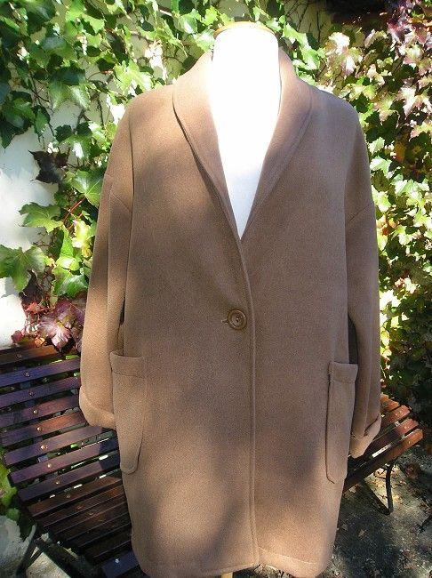 manteau mamie 2 poches
