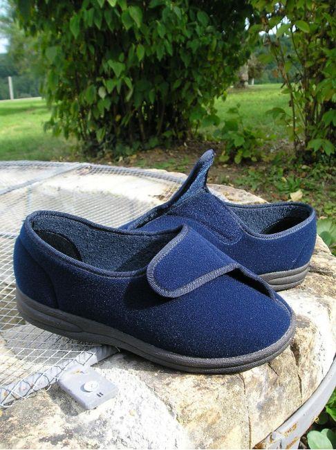 derby velcro pieds sensibles
