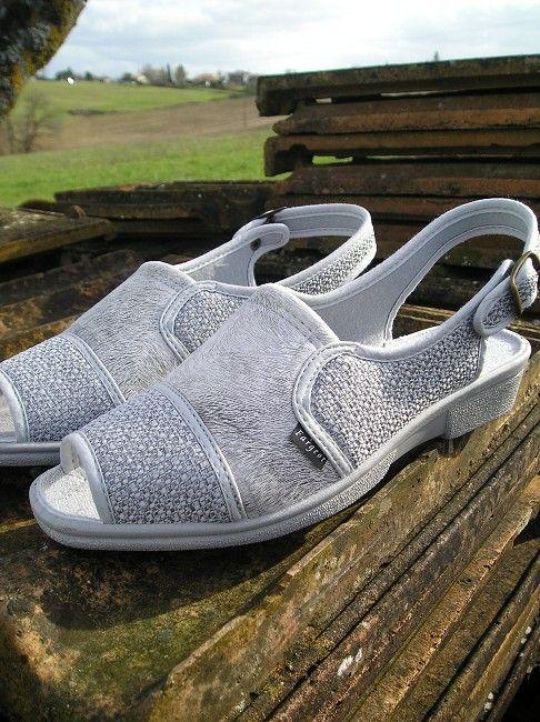 sandale à bride sénior