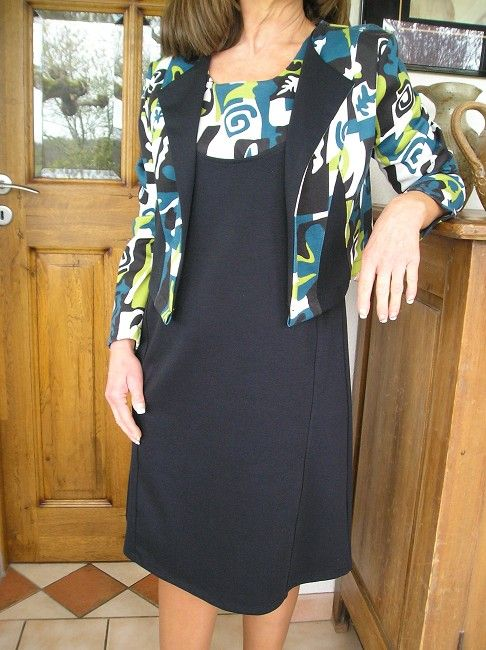 ensemble robe-gilet sénior
