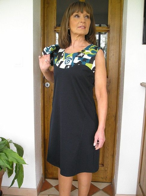 ensemble robe-gilet sénior