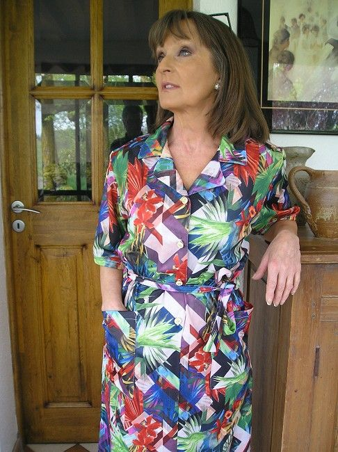 robe sénior 100% polyester