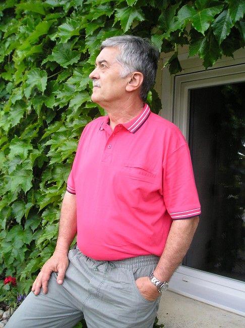 polo 100% coton personne âgée