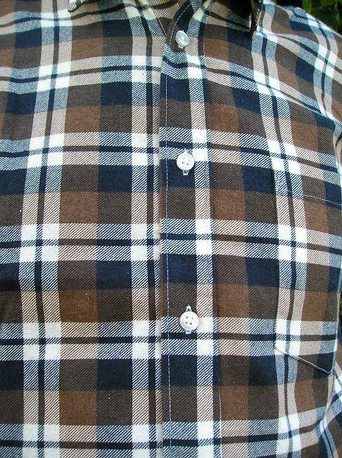 chemise flanelle imprimée personne âgée