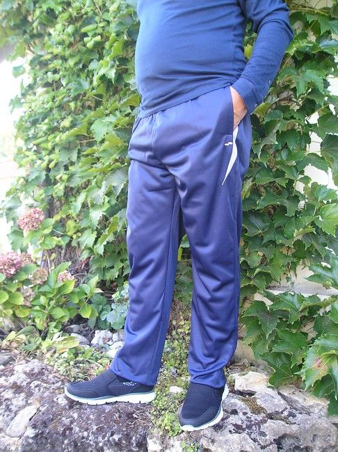 pantalon jogging 100% polyester sénior