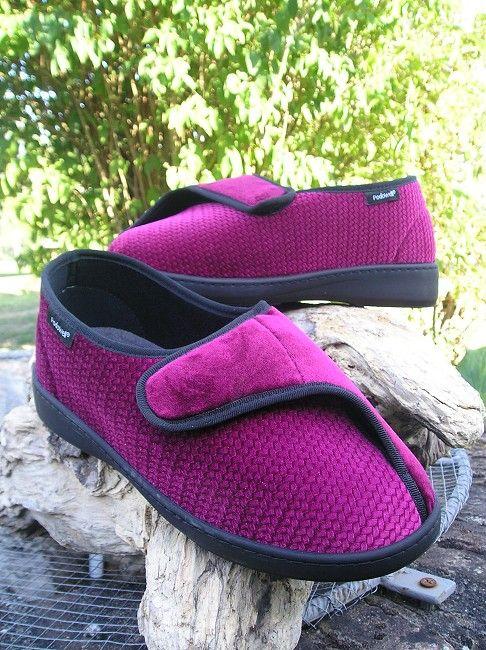 chaussure ouverture large personne âgée