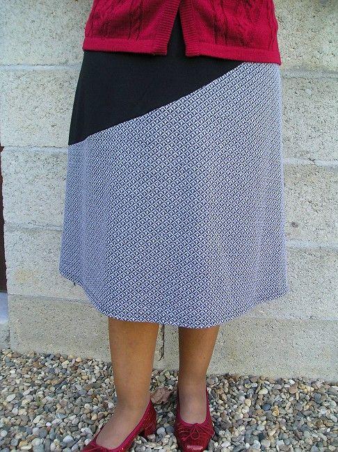 jupe taille élastiquée sénior