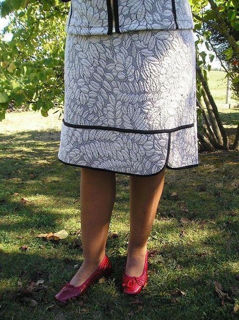 jupe tailleur sénior