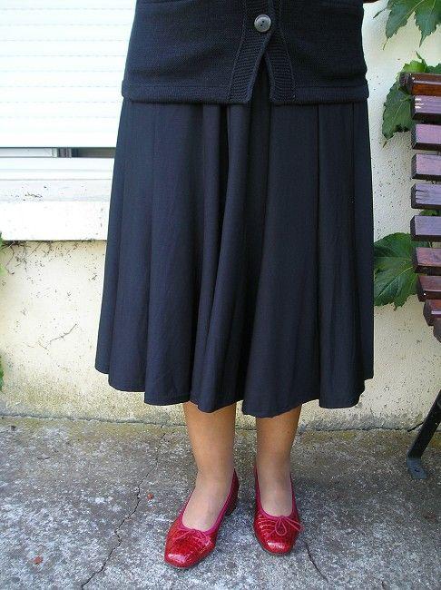 jupe longue sénior