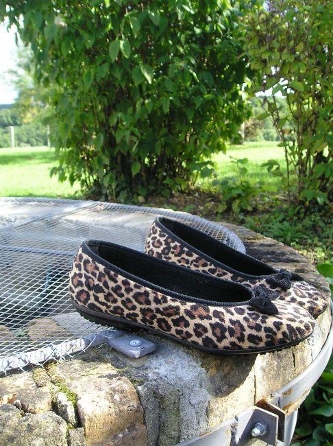 ballerine léopard