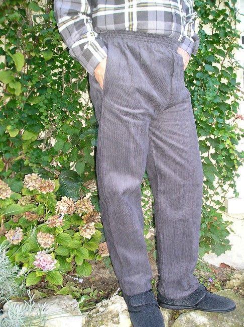 pantalon velours ras 3 ème âge
