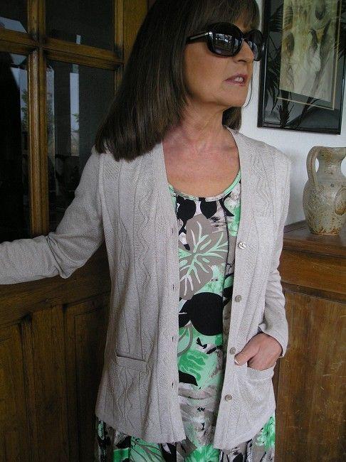 veste d'été sénior