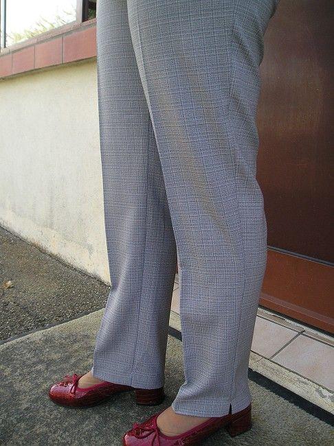 pantalon taille élastiquée personne âgée
