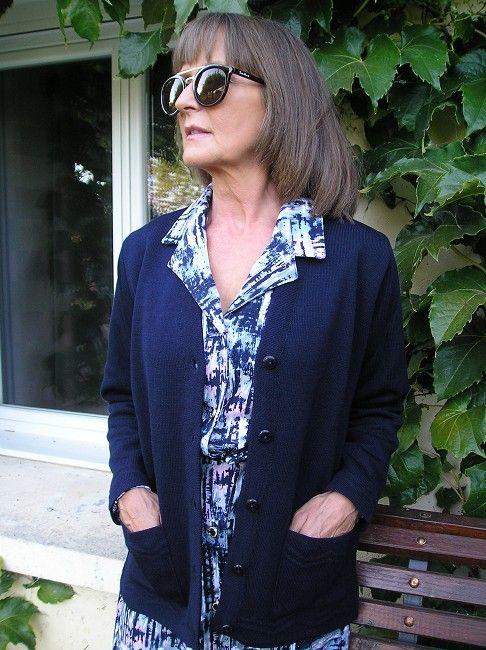 veste classique personne âgée maille milano