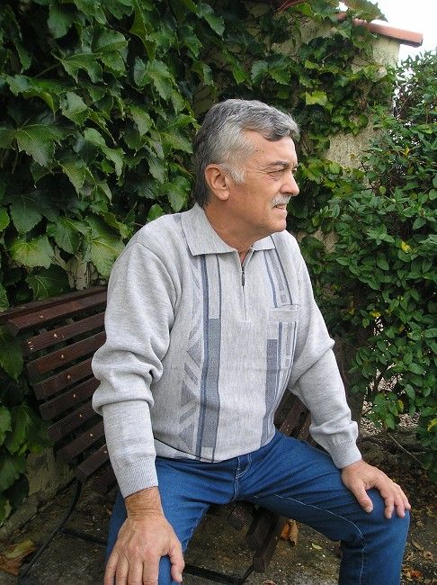 polo manches longues automne hiver personne âgée