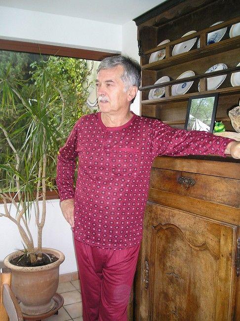 pyjama homme sénior