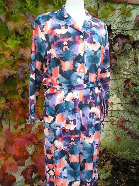 robe imprimée automne hiver 3 ème âge