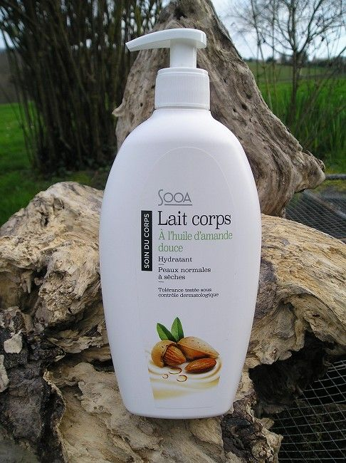 lait corporel 500 mls