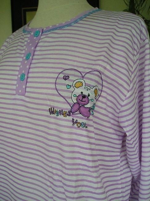 pyjama grande taille femme sénior