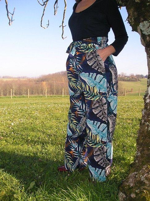 pantalon imprimé sénior