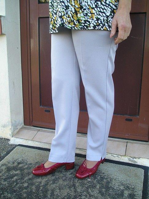 pantalon femme personne âgée