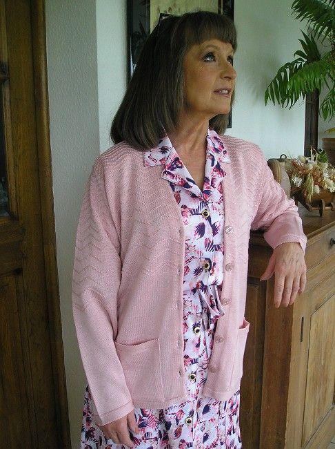 veste 100% acrylique printemps-été sénior