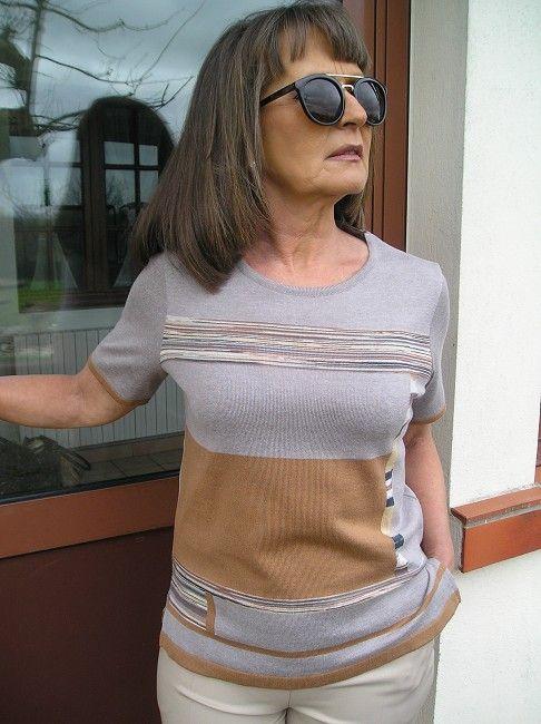 pull femme sénior