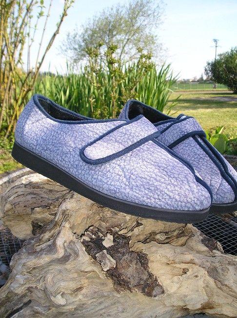 chaussure médicale grande largeur personne âgée