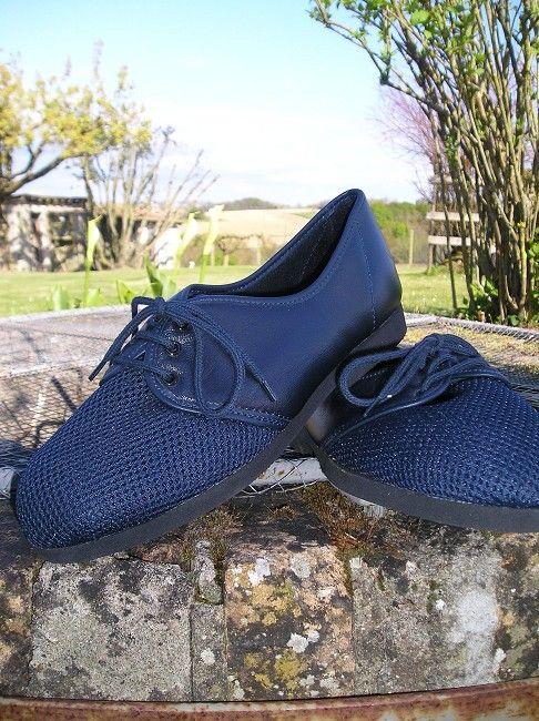 chaussure cuir à lacet sénior