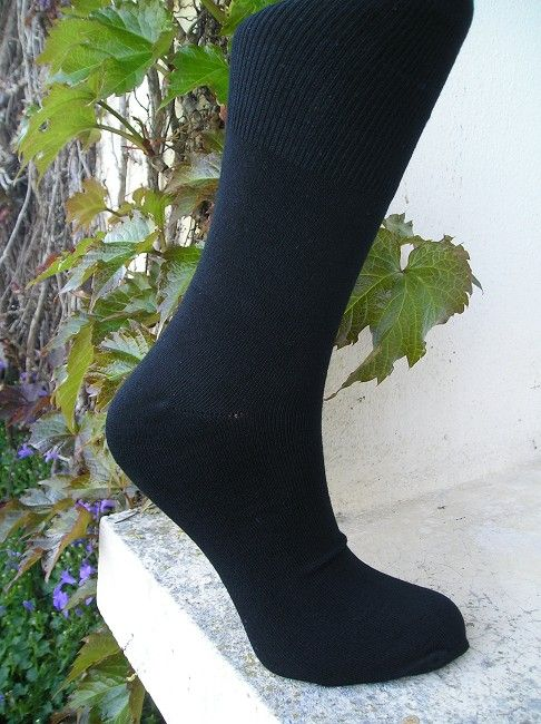lot de 3 chaussettes noires 3 éme âge