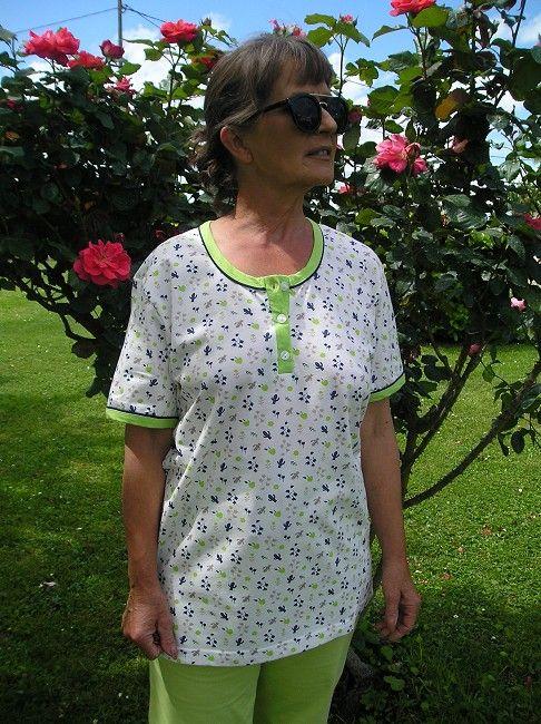 pyjama corsaire personne âgée
