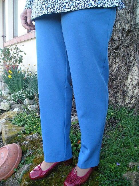 pantalon facile à enfiler sénior