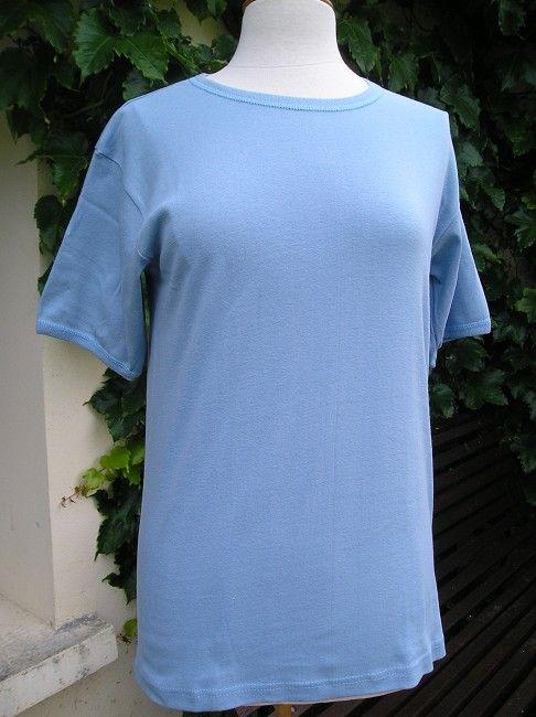 maillot de corps bleu sénior