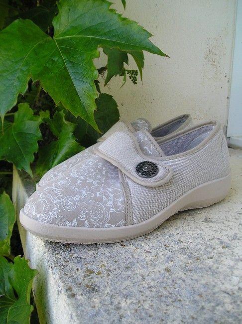 chaussure facile à enfiler personne âgée