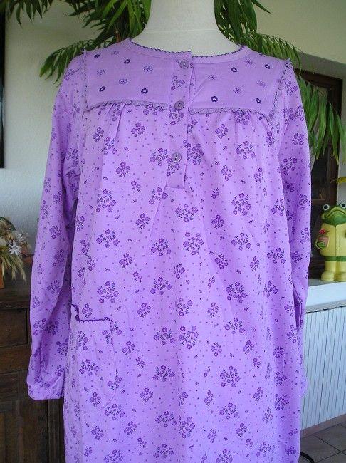chemise de nuit médicalisée personne âgée