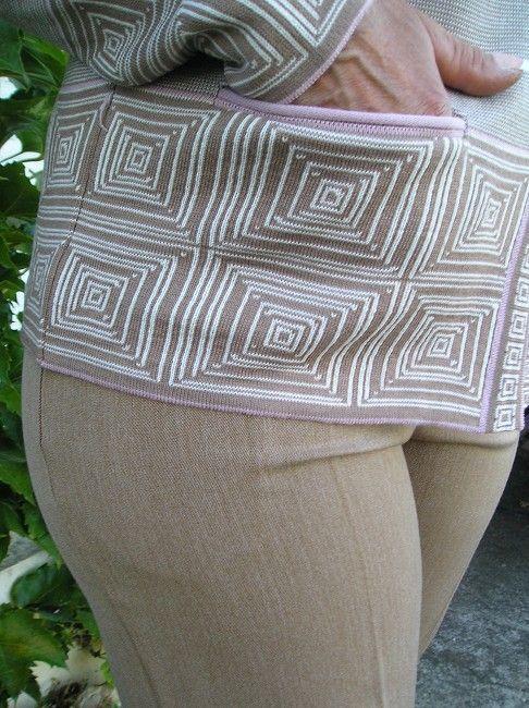 pantalon taille élastiquée sénior