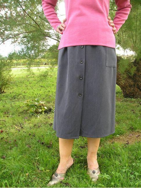 jupe ouverte personne âgée