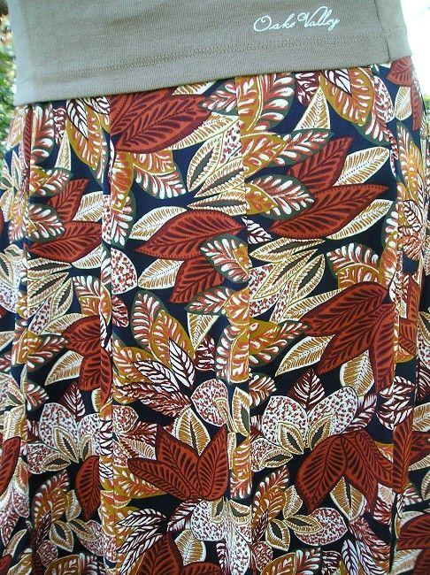 jupe à panneaux automne hiver sénior