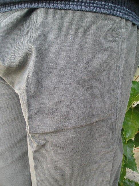 pantalon velours sénior