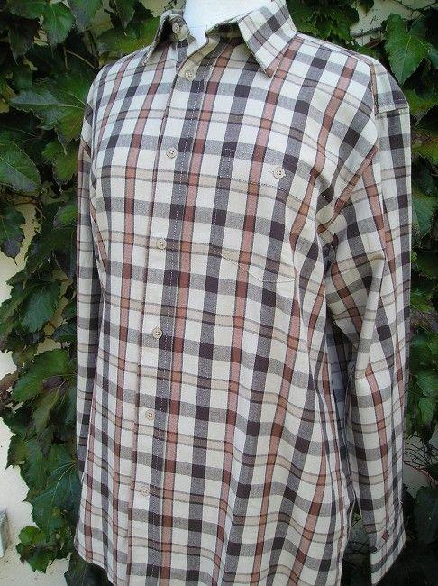 chemise sénior 100% coton