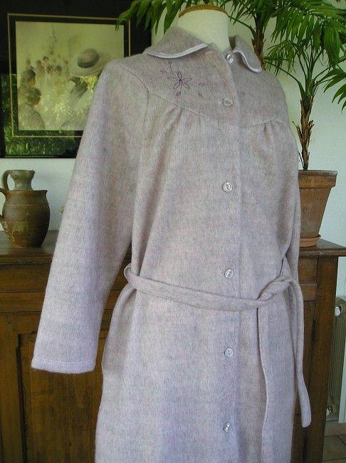 robe de chambre courtelle 3éme âge