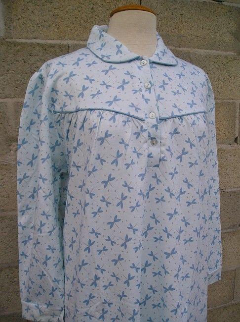 chemise de nuit chaude personne âgée